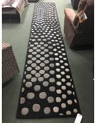 soho dark gray area rug 2 6x14