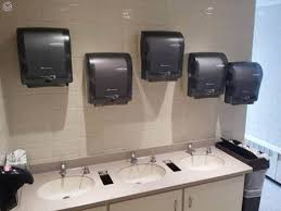 Bathroom Paper Inspiration Three Sinks Five Paper Towel Dispensers Why CrappyDesign