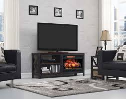 grainger infrared electric fireplace entertainment center in old world brown 26mm8552 c296