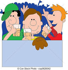 sports fan clipart. sports fan clipart #1