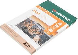 Купить <b>Фотобумага Lomond</b> 0102016 <b>A4</b>/<b>230г</b>/<b>м2</b>/50л./белый ...