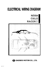 wiring diagram manual wiring image wiring daewoo lanos electrical wiring diagram service manual on wiring diagram manual