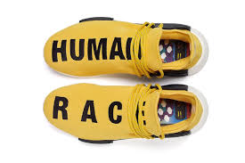 chanel x pharrell adidas. pharrell williams adidas nmd human race yellow chanel x p