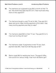 confortable 7th grade math word problems worksheets free on word problems 6th grade worksheet free