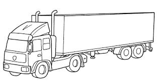Disegni Da Colorare Camion Per Bambini Fredrotgans