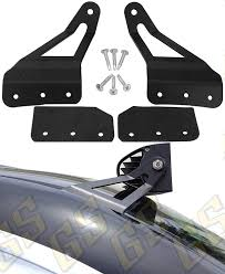 2009 Chevy Silverado Led Light Bar Gs Power Curved Led Light Bar Brackets Choice Of 50 52 54 Inch Mount At Roof Cab Upper Windshield Compatible With 2007 2013 Chevy Chevrolet