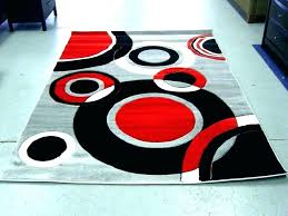 gray and red area rug red black and grey rugs area rugs with red red and