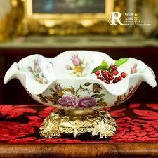 Decorative Fruit Trays Decorative fruit traysEuropean type classic luxury ceramic fruit 81