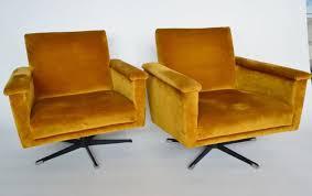mid century club chair. Brilliant Mid Club Chair Girevoli MidCentury Di Velluto Svizzera Anni U002760 Set Intended Mid Century Chair M