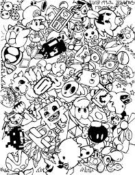 Small Picture Free Printable Video Game Coloring Pages Coloring Coloring Pages