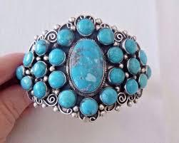 navajo kathleen chavez turquoise cer cuff bracelet 83 7 grams oversize