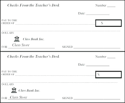 Blank Check Template Bank Mock Checkbook Templates Doc