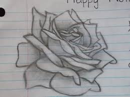 Small Picture Simple drawn Rose by PictureButNotPerfect on DeviantArt