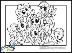 Small Picture My Little Pony Coloring Pages Friendship Is Magic Home Kids