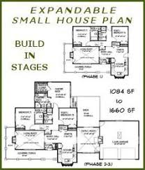 Build In Stages House Plans  BS12661574ADA Small Expandable Expandable Floor Plans