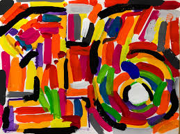 5th 6th grade camouflage jasper johns numbers