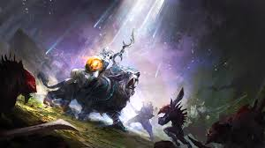 awesome luna dota 2 wallpaper hd for your image wallpapers with