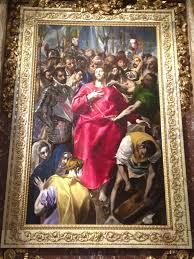 el expolio the disrobing of christ maximum representation of the dramatism in el greco s paintings