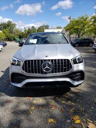 From the outside, the heavily contoured power dome design hints at the immense power delivery. New 2021 Mercedes Benz Amg Gle 53 4matic Coupe Suv Iridium Silver Metallic 21 162