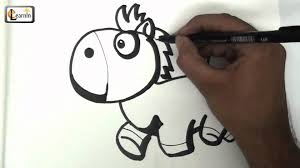 horse drawing for kids how to draw a horse drawing for children easy step