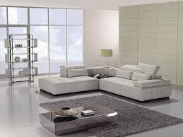 Modern White Furniture For Living Room Furniture Amazing Modern White Leather Sofa Ideas Image 2 White