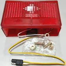 shorelander lights and wiring hanna trailer supply oak creek shorelander 5110001 waterproof left side tail light