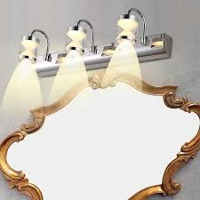 Modern bathroom mirror lighting Led Light Wall Mirror Lightymiko Modern Bathroom Front Mirror 3led Light Wall Mounted Makeup Lamp Fixture Desk And Lamp Wall Mirror Lightymiko Modern Bathroom Front Mirror 3led Light Wall