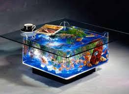 Fishtank furniture Unusual Stunning Live Fish Furniture Pinterest Stunning Live Fish Furniture Aquarium Coffee Table