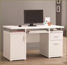 modern white wooden computer desk with file cabinet of interesting throughout computer desk file cabinet