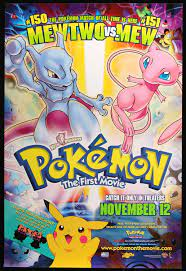 Pokemon the First Movie (1999) Original One-Sheet Movie Poster - Original  Film Art - Vintage Movie Posters