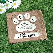 dog garden memorials pet memorial stepping stones personalized wedding anniversary best images on dog memory garden stone