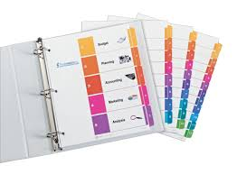 Amazon Com Avery Ready Index Table Of Contents Dividers Black