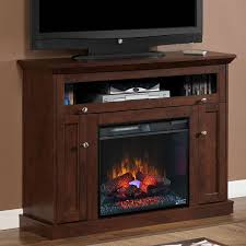 wooden electric fireplace tv stand costco