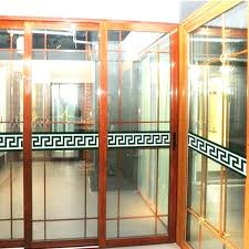 catchy glass door decals pictures also for business stickers uk safety is here