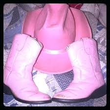 toddlers pink cowgirl boots toddler girl leather size little