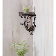 Decorative Wooden Shelf Brackets Onlineshoppee Beautiful Wooden Decorative Corner Wall Hanging