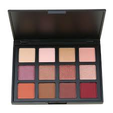 12 color shimmer nature glow eyeshadow palette portable makeup cosmetics eye shadow powder waterproof makeup set in eye shadow from beauty health on