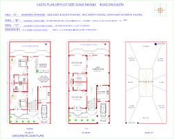 20 x 40 house plans south facing sea for 20 60 house map