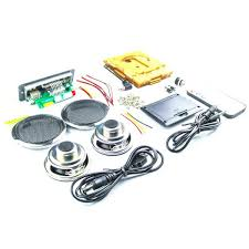product description diy 2x3w multi function bluetooth wireless small power amplifier speaker kit
