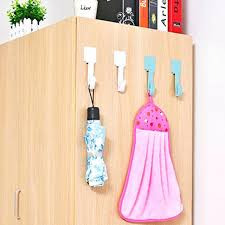 adhesive wall hooks household strongly hook hanger use for kitchen bath hanging door back walls adhesive wall hooks