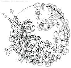 Cute Fairy Coloring Pages Coloring Cute Fairy Coloring Pages