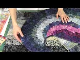 y spiral table runner with 9 degree wedge ruler