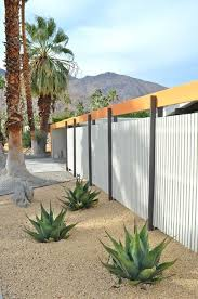 Modren Sheet Metal Fence Corrugated By In Decor