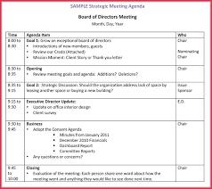 Free Edit Board Meeting Agenda Template Examples Templates