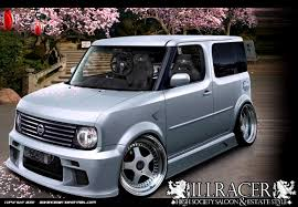 This go hard! I likes! VIP style Nissan Cube JDM by illracer ...