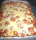meatball subs in a pan casserole