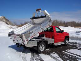 Dumping Aluminum Flatbed - Small Truck Bodies - HP Fairfield ...