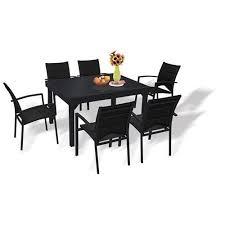 Ensemble table et chaise exterieur pas cher mobilier jardin ...
