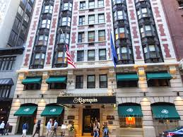 the algonquin is new york s most prestigious literary hotel except for perhaps the hotel chelsea the algonquin has more connections to literature and the