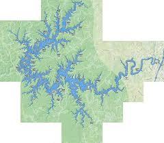 Laurel River Lake Fishing Map Us_ky_00513266 Nautical